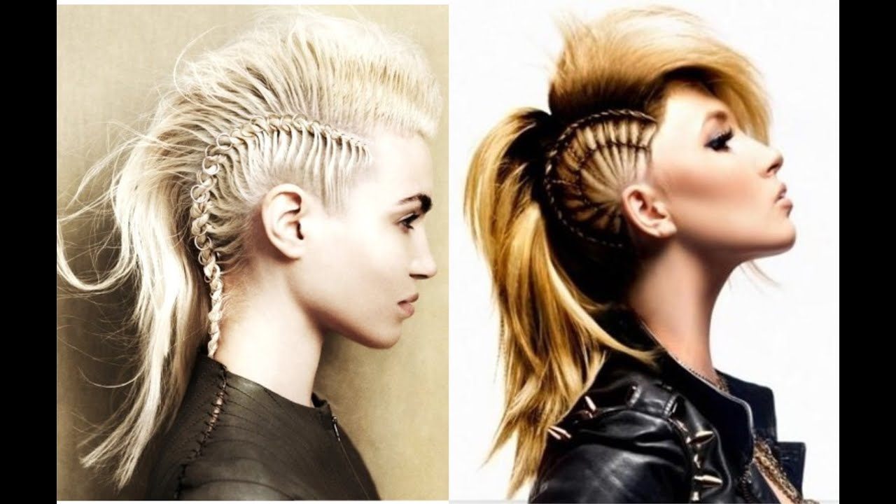 Mohawk Hairstyles For Women With Long Hair