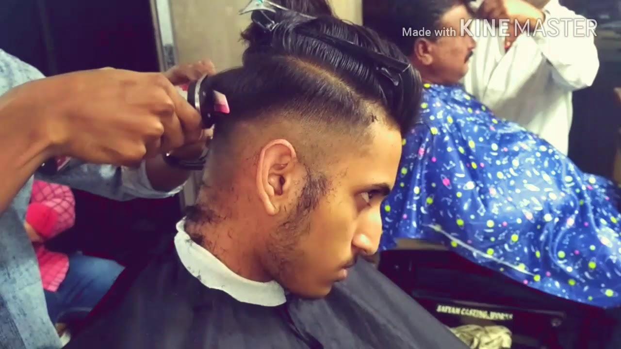 indian guy skinfade haircut