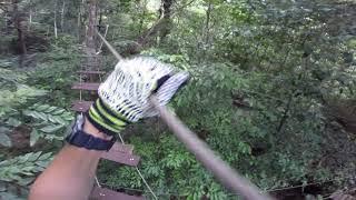 Krabi Tree Top Adventure Park - Blue course