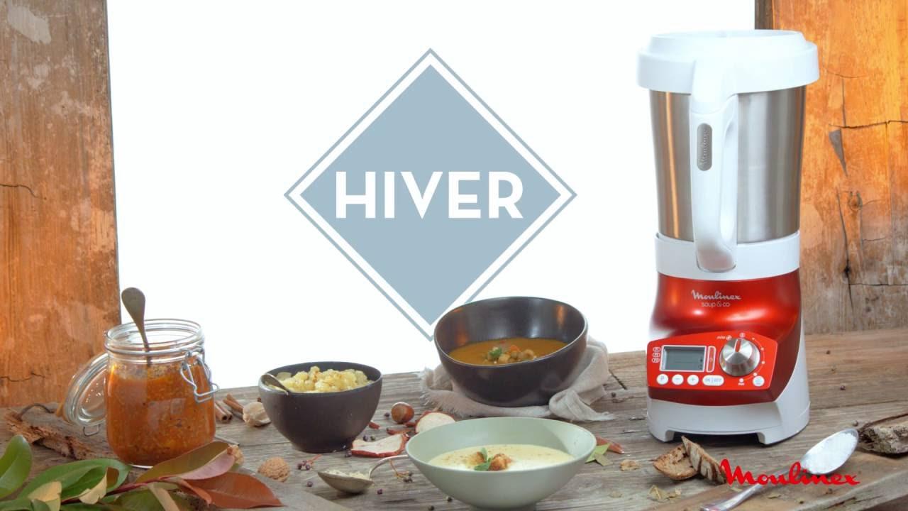 D couvrez en vid o le blender chauffant moulinex soup co - Blender moulinex soup and co ...