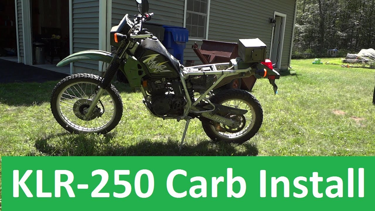 medium resolution of keihin cvk carburetor install kawasaki klr 250