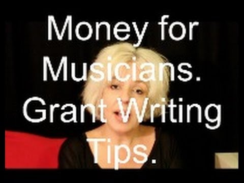 Money for Musicians - How to get a Grant