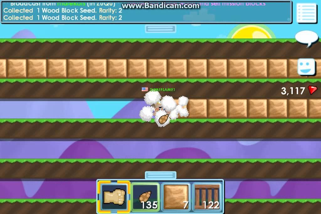 yksityiskohdat suunnittelija muoti noukkia Growtopia: Farming Wood blocks!
