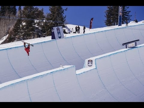 Worlds First Double Superpipe Competition
