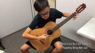 Wen Jian performs Mona Lisa by Lee Sollory