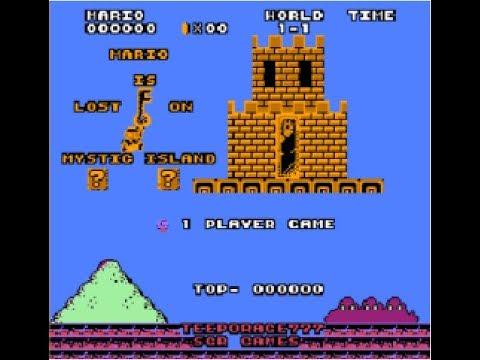 Mario Is Lost On Mystic Island (SMB1 Hack)