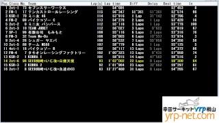 幸田サーキットyrp桐山 タイミングモニタ