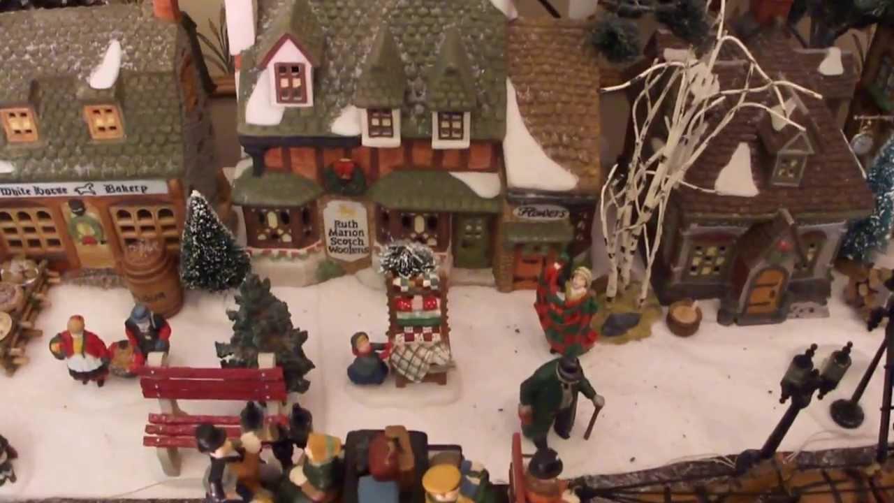 christmas village mill stream dickens village dept 56 - Dept 56 Christmas Village