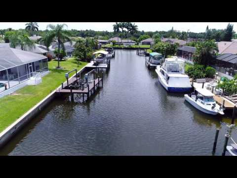 Living the Waterfront Dream - A Cape Coral Aerial Tour