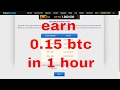 earn free bitcoin | 0.15 btc in 1 hour | rool and earn | freebitco.in💻🖱