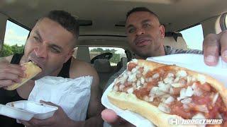 Taste Test Before Hotdog Challenge @hodgetwins