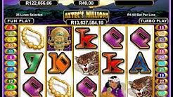 Aztec's Millions Progressive Jackpot at Silversands Casino
