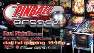 Pinball Arcade PC Gameplay FullHD 1440p