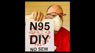 PRO N95 Mask DIY by Teacher & Inventor (Directions start @ 4 min.)