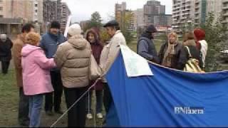 Пикет обманутых дольщиков в Петербурге