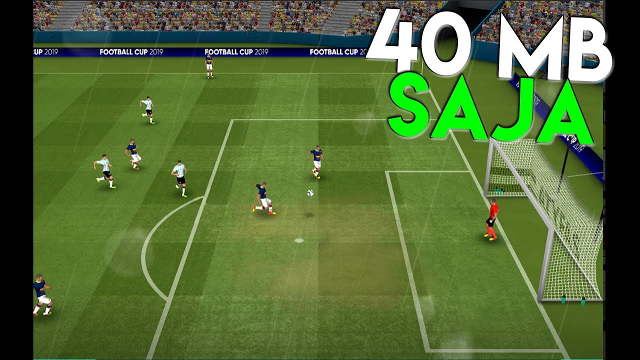 Gila Cuma 40 Mb Game Sepak Bola Sekeren Ini Di Hp Android Youtube