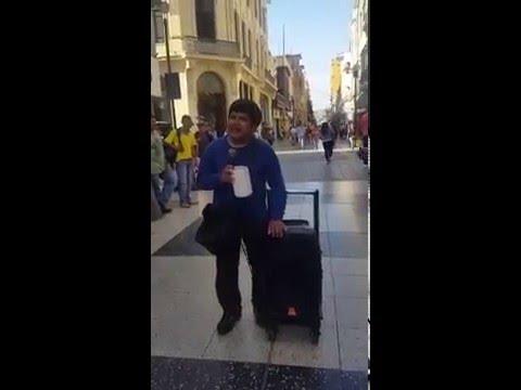 Ciego Peruano Canta - El Perdon Nicky Jam
