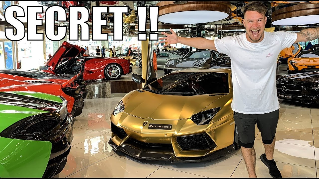 Super Cars For Sale >> The Secret Supercars For Sale In Dubai