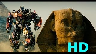 Optimus Prime vs. Megatron & The Fallen - Transformers Revenge Of The Fallen Movie Clip ...