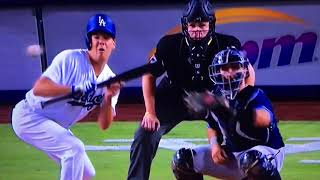 Coward Clayton Richard hits Rich Hill on neck after he shows bunt