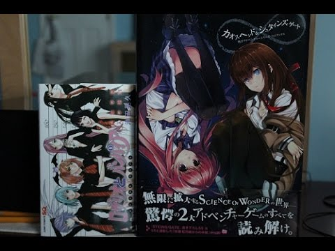 Tokyo Otaku Mode Unboxing (Rosario Vampire character book and Steins;Gate art book)