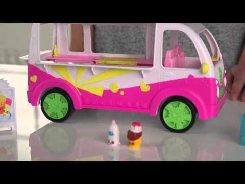 Shopkins Scoops Ice Cream Truck Playset - Argos Toy Unboxing