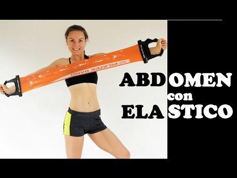 Abdominales con banda elástica (liga) | Día 5 #abs21