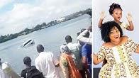 Mama na binti wazama baharini Mombasa wakiwa kwenye gari kivukoni, watu waishuhudia gari ikizama
