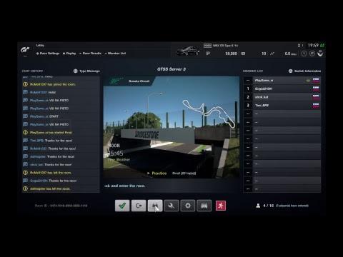 GT Sport Slovenia Suzuka GR3 Server 3 Live