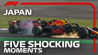 5 Shocking Moments From The Japanese Grand Prix