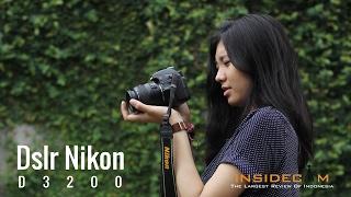 DSLR Nikon D3200 - Review Indonesia