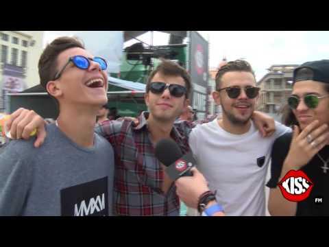 Interviu exclusiv Kiss FM cu trupa Maxim