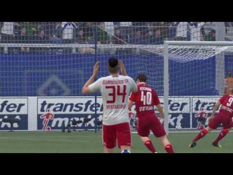 1. Spiel in der 1. Bundesliga gegen HSV 1.Spieltag/5. Saison Fifa 17 PS 4 Pro