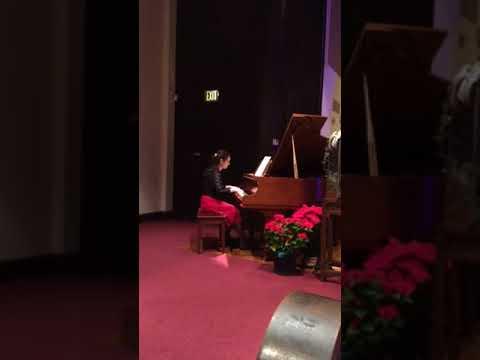 Gabrielle Miller 2017 Christmas Recital  God Rest Ye Merry Gentlemen