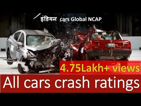 Crash test of Indian cars:NCAP test:Tata,Maruti,Chevrolet,Volkswagen,Renault,Honda,Hyundai, Mahindra