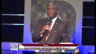 Succeeding Without Limits Part 1 with David Ibiyeomie