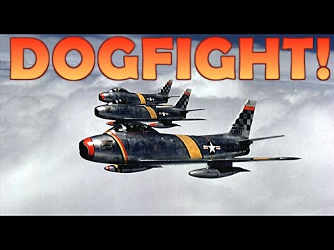 Korean War Dogfighting: The most INTENSE Dogfights of the Korean War!
