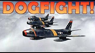 Korean War Dogfighting: The most INTENSE Dogfights of the Korean War! HD