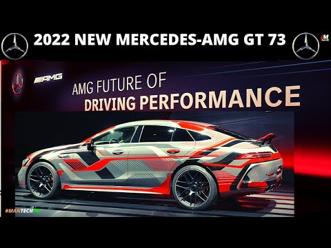 2022 New Mercedes AMG GT 73 | Mercedes AMG GT | AMG GT | AMG Future of Driving Performance | MBUSA