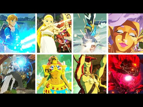 Hyrule Warriors Age Of Calamity All Characters Youtube