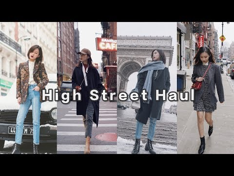 High Street Haul | 我的服饰类高街单品合集 | Mango | Topshop | &Other Stories | Urban Outfitters
