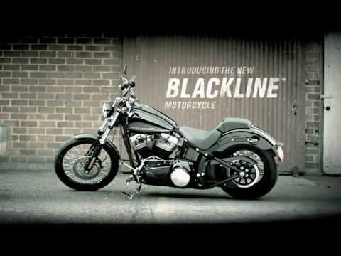 Harley-Davidson Blackline - YouTube
