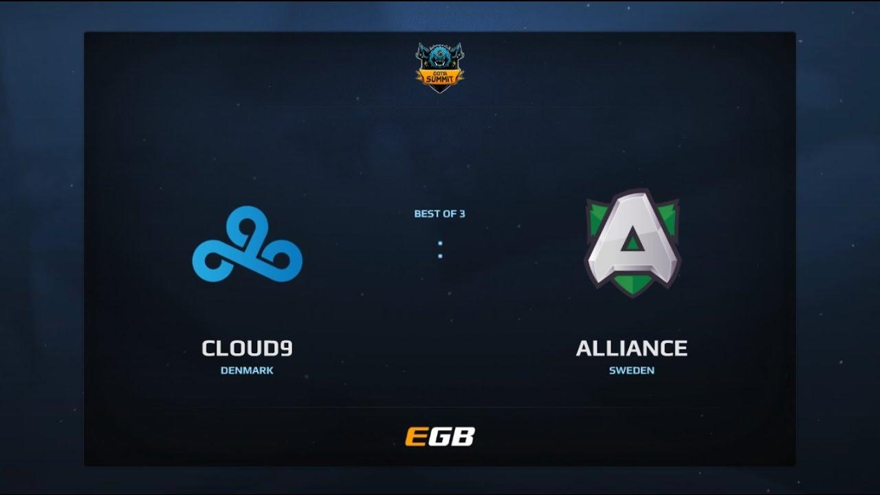 Cloud 9 vs Alliance, Game 3, Dota Summit 7, EU Qualifier