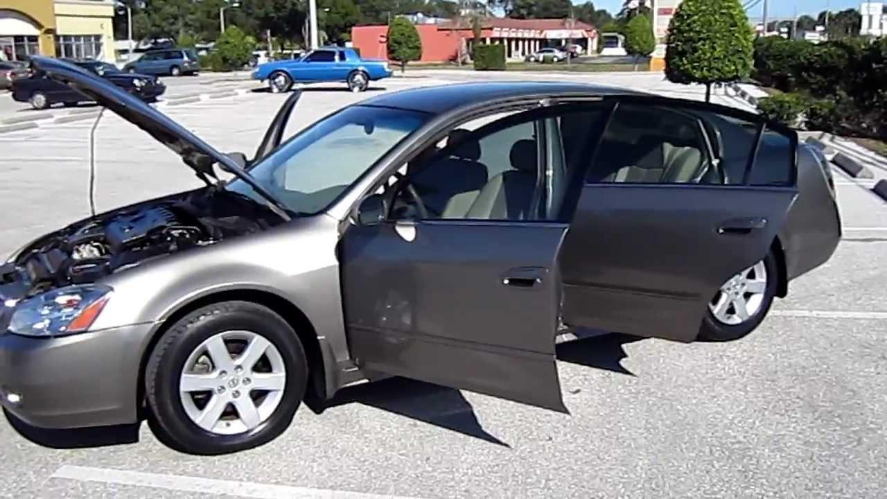 SOLD 2003 Nissan Altima 2.5 S Meticulous Motors Inc Florida For Sale LOOK