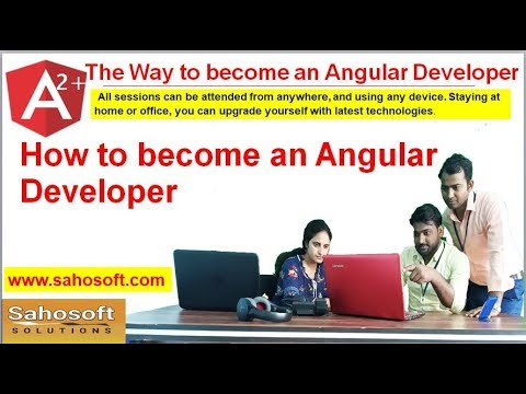 Way to become an Angular Developer | Sahosoft | Angular Online Class thumbnail