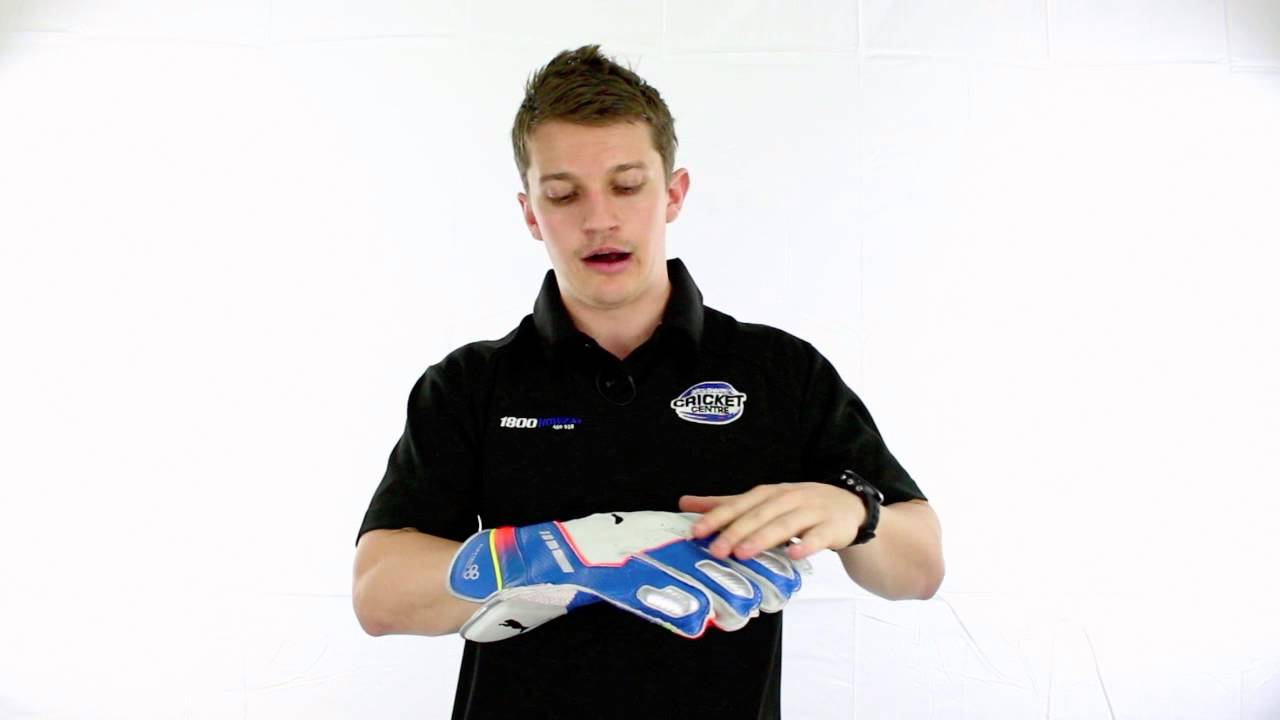 47f040afd9a4 2014 PUMA evoSPEED 5000 Wicket Keeping Gloves - YouTube