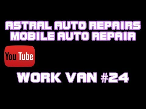 ⭐ Work Van #24 – How To Run A Successful Mobile Auto Repair Business