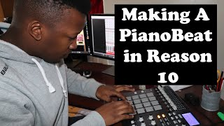 Making A Piano Beat in Reason 10.4