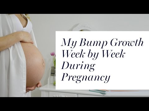 Download Youtube: My Baby Bump Growth Week by Week Time Lapse