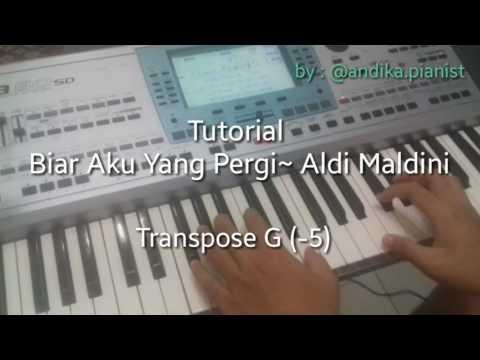 [TUTORIAL] Biar Aku Yang Pergi~ Aldi Maldini (Piano Easy Mode)
